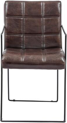Jofran Modern Living 1721DAWSON Dining Room Chair Brown, 1