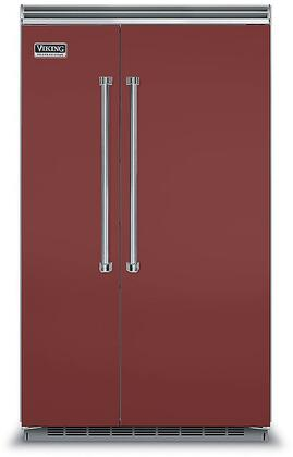 Viking 5 Series VCSB5483RE Side-By-Side Refrigerator Red, VCSB5483RE Side-by-Side Refrigerator