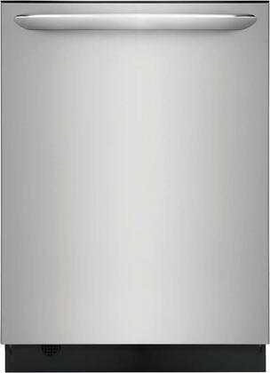 FGID2468UF 24″ Gallery Series Built-In Dishwasher with 14 Place Settings  Dual OrbitClean  Energy Star Certified and Delay Start in Stainless