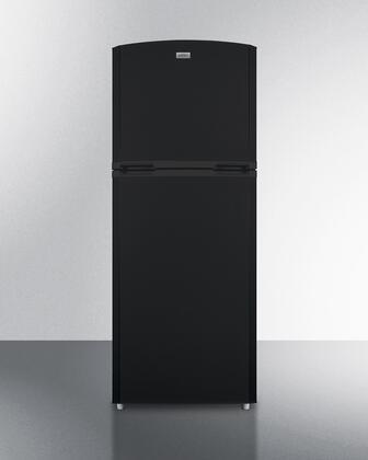 Summit  FF1427BKLHD Top Freezer Refrigerator Black, FF1427BKLHD Top Freezer Refrigerator