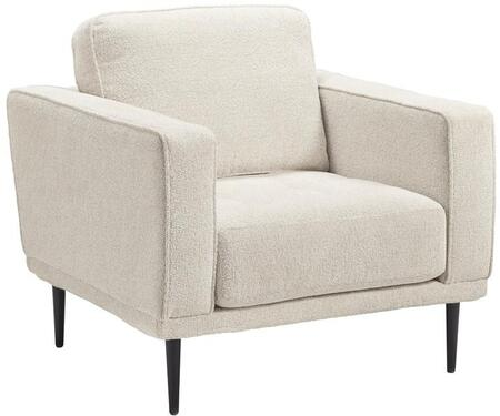 Signature Design by Ashley Caladeron 9080420 Living Room Chair White, Main Image