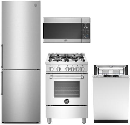 Bertazzoni Professional 1411612 Kitchen Appliance Package Stainless Steel, Main image