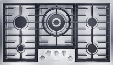 Miele  KM2355LP Gas Cooktop Stainless Steel, Main Image