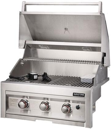 Sunstone Sunstone SUN3BNG Natural Gas Grill Stainless Steel, Main Image