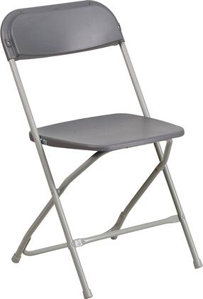 Flash Furniture Hercules LEL3GREYGG Folding Chair, LE L 3 GREY GG