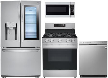 LG  1130561 Kitchen Appliance Package Stainless Steel, Main Image