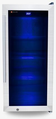 Steak Locker  SL100 Freezerless Refrigerator Stainless Steel, SL100 Studio Edition Dry Age Refrigerator