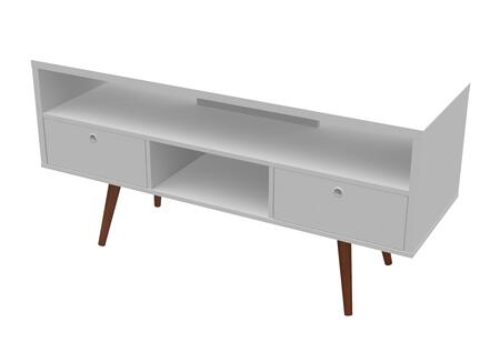 Ideaz International Jessie 23103WS 52 in. and Up TV Stand White, Main View