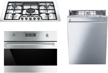 Smeg 1054470 Kitchen Appliance Package & Bundle Stainless Steel, main image