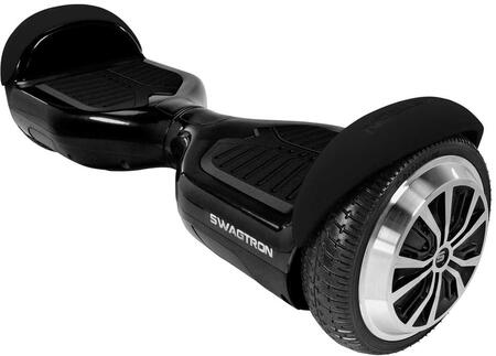 T1BLK Swagboard Pro T1 Hoverboard with Non-Slip Footpads  ABS Case and UL2272 Certified in