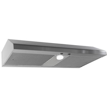 Imperial Slim Baffle N1936BPSB8SS Under Cabinet Hood Stainless Steel, N1936BPSB8SS Bottom View