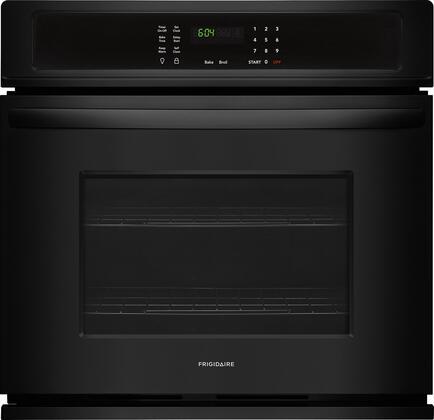 Frigidaire FFEW3026TB Single Wall Oven Black, Main Image