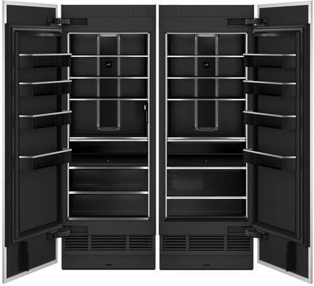 Jenn-Air  1332980 Column Refrigerator & Freezer Set Panel Ready, Main Image