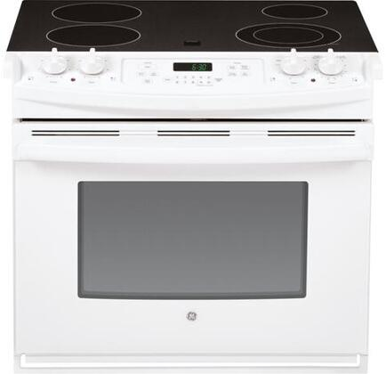 GE  JD630DFWW Drop-in Ranges | Drop-In Stoves White, Mian View