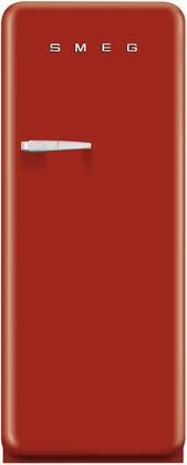 Smeg 50s Retro Style FAB28URDR1 Top Freezer Refrigerator Red, Main Image