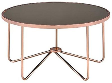 Acme Furniture Alivia 81840 Coffee and Cocktail Table Gold, 1