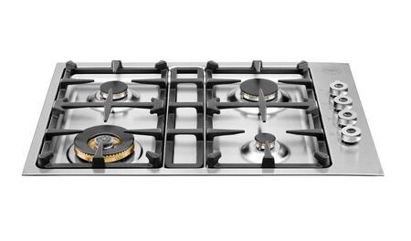 Bertazzoni Professional QB30400X Gas Cooktop Stainless Steel, QB30400X  30 Drop-in low edge cooktop