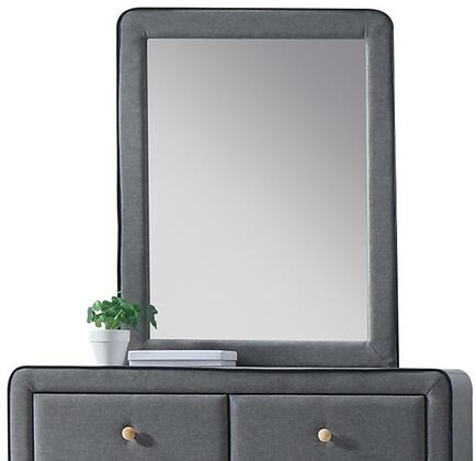 Acme Furniture Valda 24524 Mirror Gray, Front View