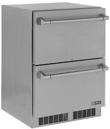 Lynx Professional LM24DWR Drawer Refrigerator Stainless Steel, Main Image