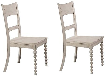 Acme Furniture Coyana 66112 Dining Room Chair White, 66112 Set