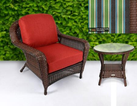 Tortuga Sea Pines LEXCT1JECHO Outdoor Patio Set Brown, LEXCT1JECHO Main Image