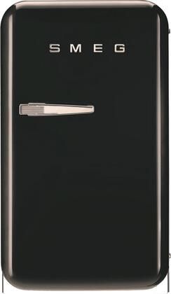 Smeg FAB5URUJ 16 50s Retro Style Series Compact Refrigerator with 1.5 cu ft Capacity Absorption Cooling Automatic Defrost and LED Interior Lighting in Union Jack Color with Right