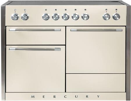 AGA Mercury AMC48INIVY Freestanding Electric Range Bisque, Main Image