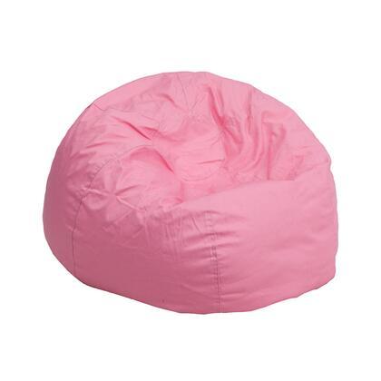 Flash Furniture DGBEAN DGBEANSMALLSOLIDPKGG Bean Bag Chair Pink, DGBEANSMALLSOLIDPKGG