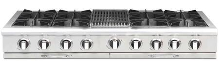 Capital Culinarian CGRT604B4N Gas Cooktop Stainless Steel, Main Image