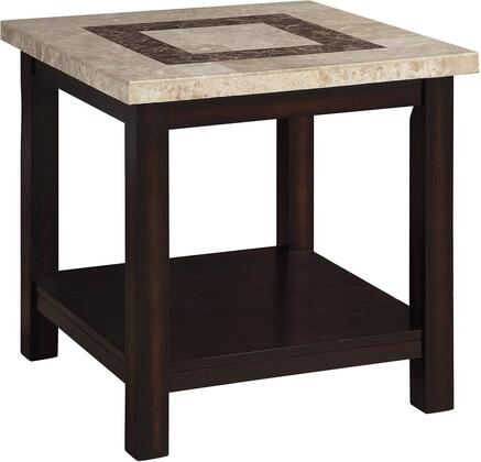 Furniture of America Rosetta CM4186E End Table Brown, Main Image