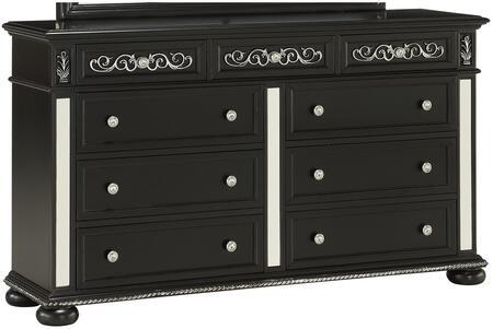Global Furniture USA Global Furniture USA DIANABLACKDR Dresser Black, Global Furniture Diana Black 9 drawer Dresser ed0474a4 bcf1 4c15 a755 1d05a92c9b56