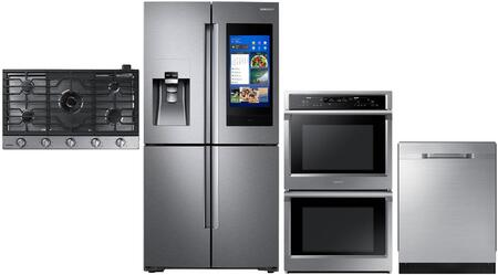 Samsung  1011191 Kitchen Appliance Package Stainless Steel, main image