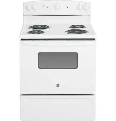 GE  JBS10DFWW Freestanding Electric Range White, 1