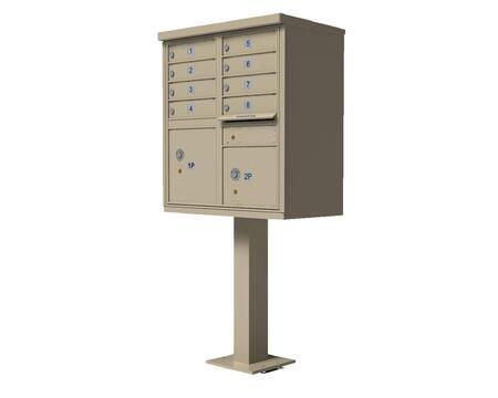 Qualarc CBU8SS Mailbox Accessories, CBU 8 SS