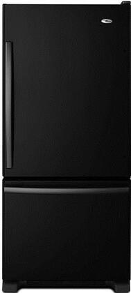 Amana  ABB1924BRB Bottom Freezer Refrigerator Black, 1