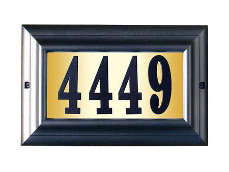 Qualarc Edgewood LTL1301PWPN Address Plaques, LTL 1301 PW PN