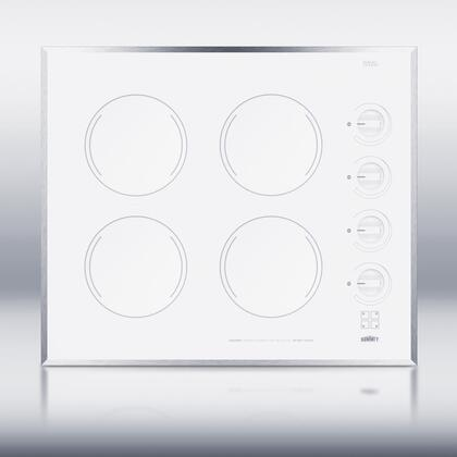 Summit  CR424WH Electric Cooktop White, 1