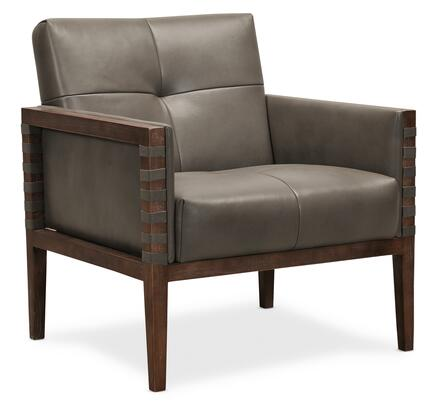 Hooker Furniture CC Series CC401095 Accent Chair Gray, Silo Image