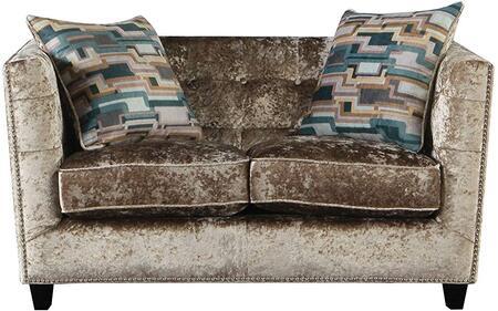 Acme Furniture Juliana 54586 Loveseat Beige, Loveseat
