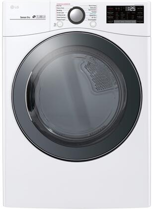 LG  DLEX3900K Electric Dryer Silver, Main Image