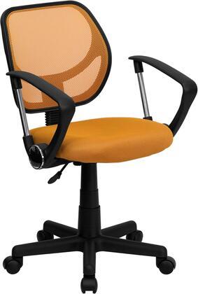 Flash Furniture  WA3074ORAGG Office Chair Orange, WA3074ORAGG side