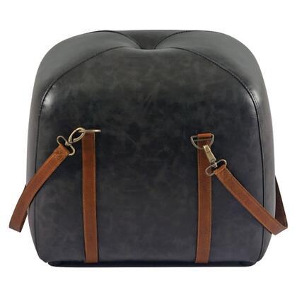 Yosemite Leather Luxury 253336 Pouf, Main Image
