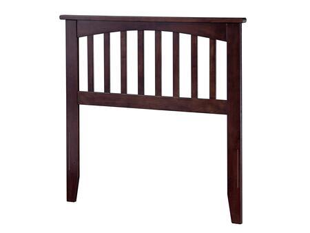 Atlantic Furniture Mission AR287821 Headboard Brown, AR287821 SILO F 180