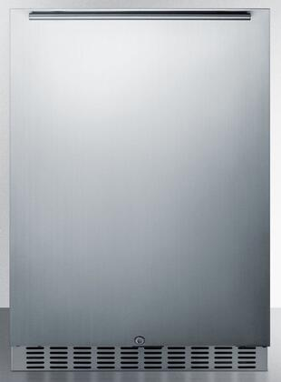 Summit Classic CL69ROSW Compact Refrigerator Stainless Steel, Main Image