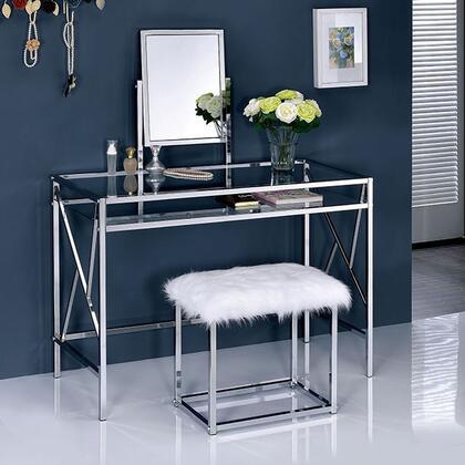 Furniture of America Lismore CMDK6707CRM Vanity , Main Image