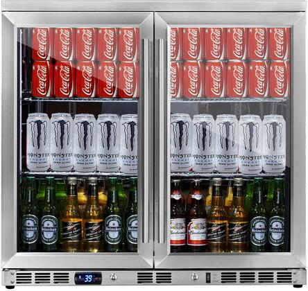 KingsBottle  KBU56M Beverage Center Stainless Steel, KBU56M Beverage Center