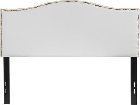Flash Furniture Lexington HGHB1707FWGG Headboard White, HG HB1707 F W GG