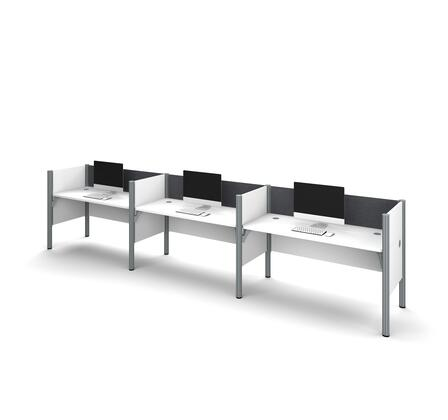 Bestar Furniture 100872CG17 Office Desk, bestar pro biz 100872c gray