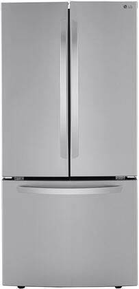 LG  LRFCS25D3S French Door Refrigerator Stainless Steel, LRFCS25D3S French Door Refrigerator