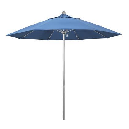 California Umbrella Venture ALTO908002SA26 Outdoor Umbrella Blue, ALTO908002-SA26Main Image